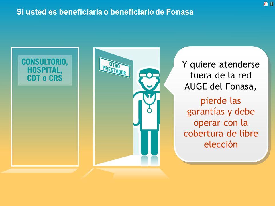 Si usted es beneficiaria o beneficiario de Fonasa