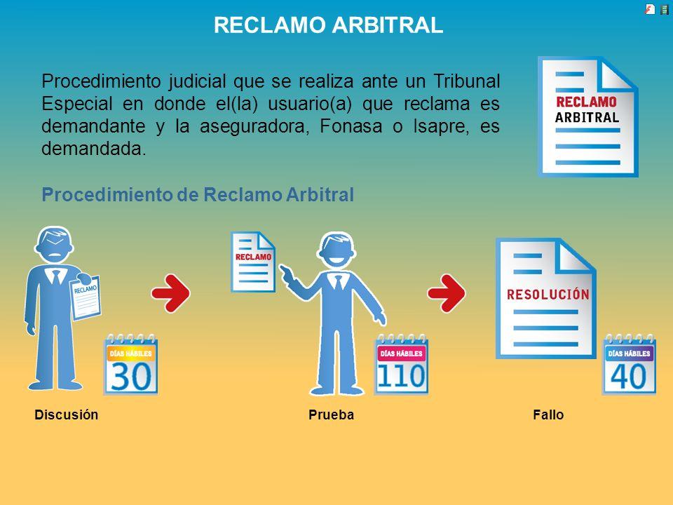 RECLAMO ARBITRAL