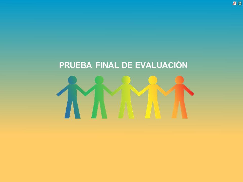 PRUEBA FINAL DE EVALUACIÓN
