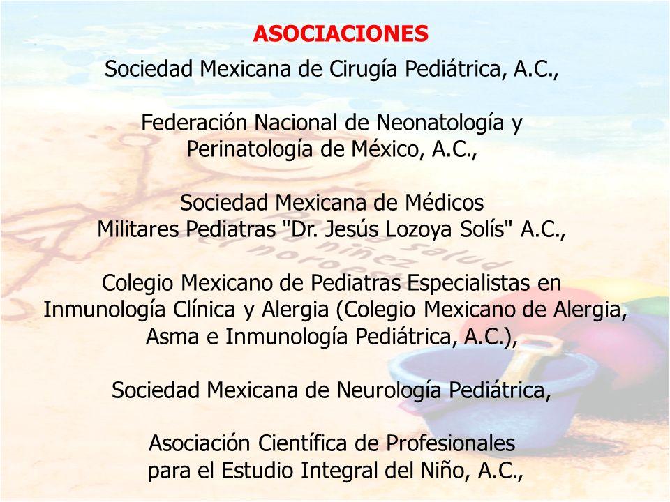 Sociedad Mexicana de Cirugía Pediátrica, A.C.,