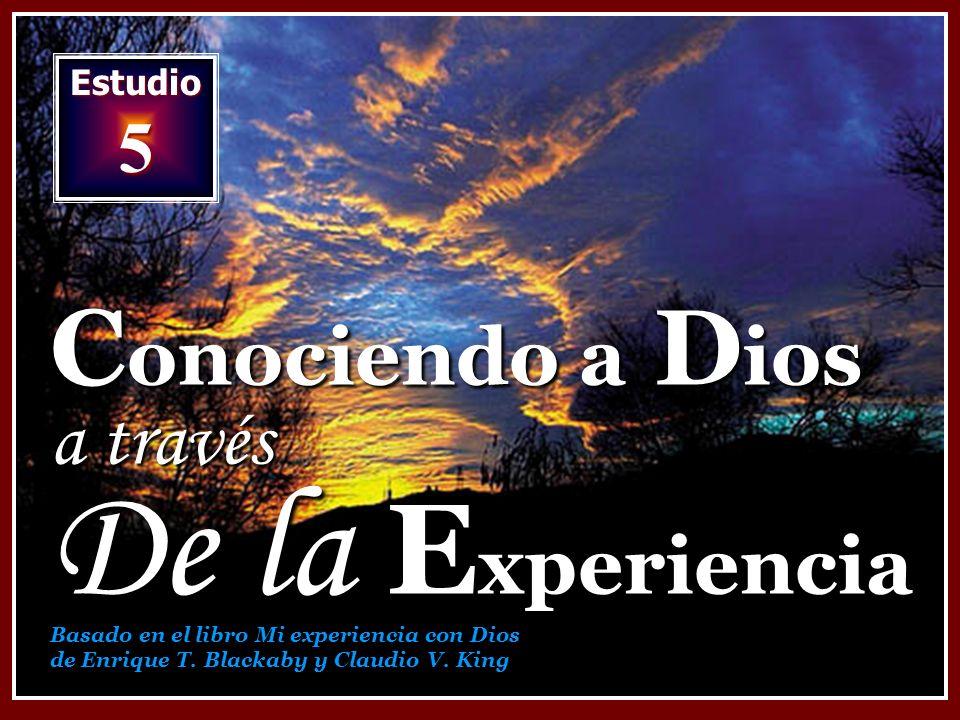 Conociendo a Dios a través De la Experiencia