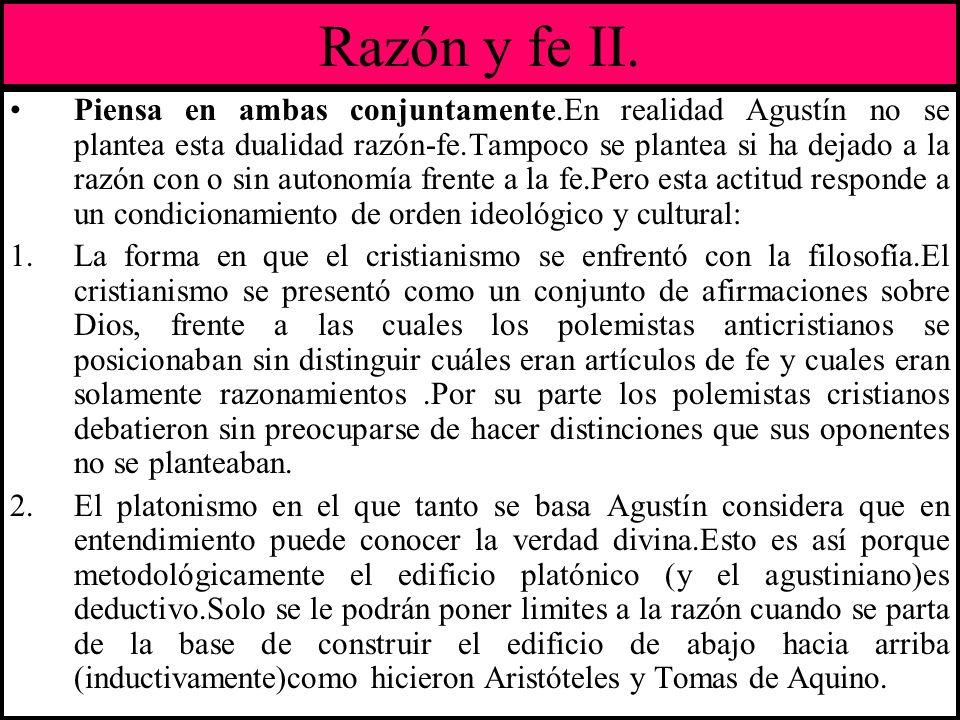Razón y fe II.