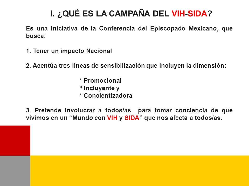 I. ¿QUÉ ES LA CAMPAÑA DEL VIH-SIDA