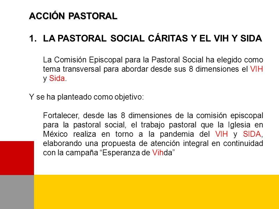 LA PASTORAL SOCIAL CÁRITAS Y EL VIH Y SIDA
