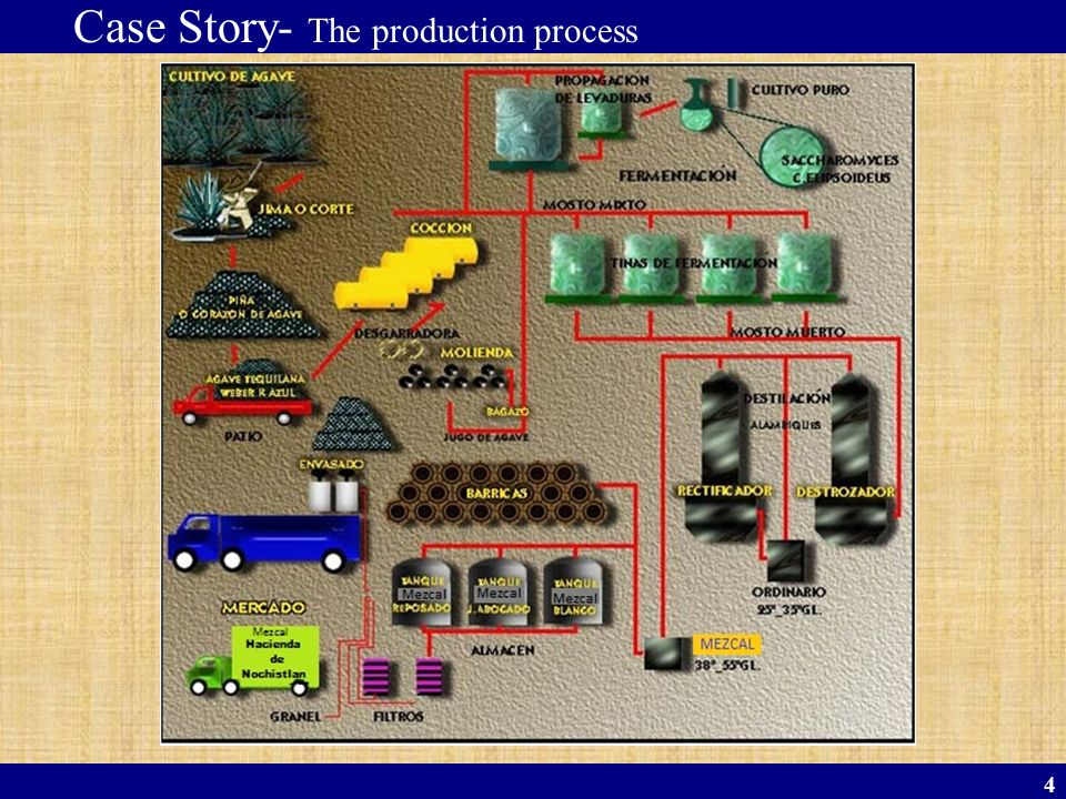 Case Story- The production process