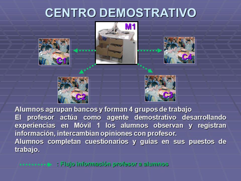 CENTRO DEMOSTRATIVO M1 C4 C1 C3 C2