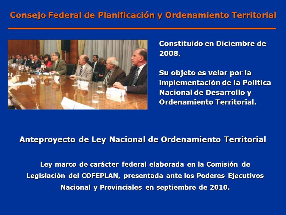 Consejo Federal de Planificación y Ordenamiento Territorial