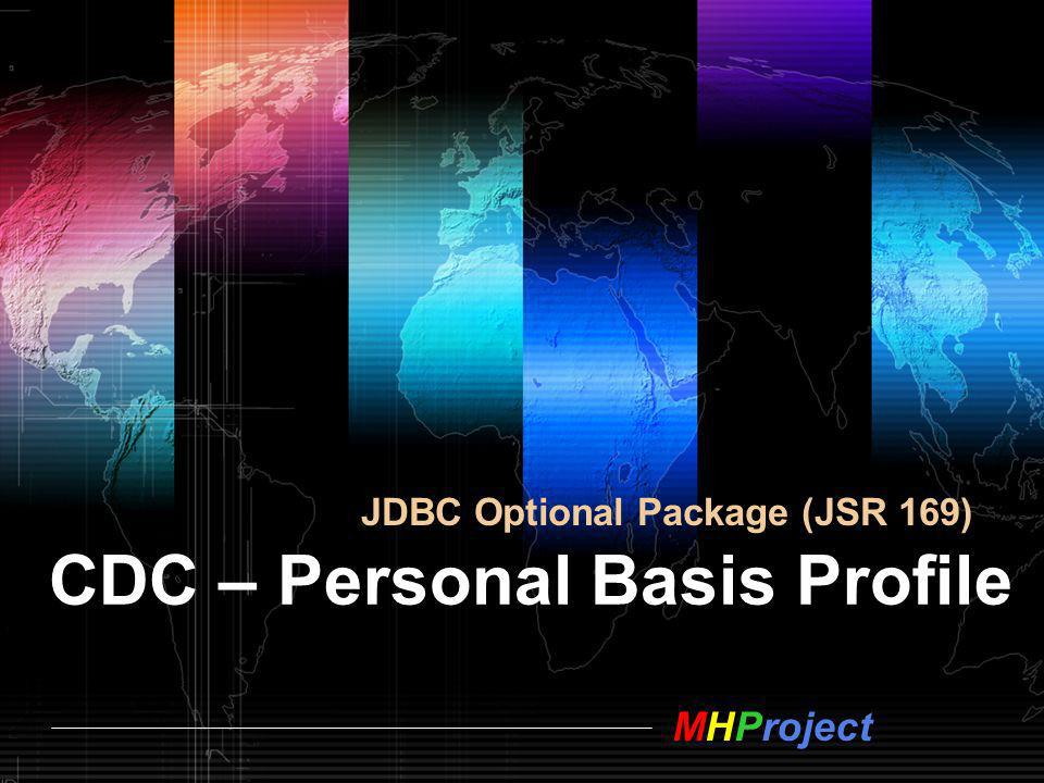 CDC – Personal Basis Profile