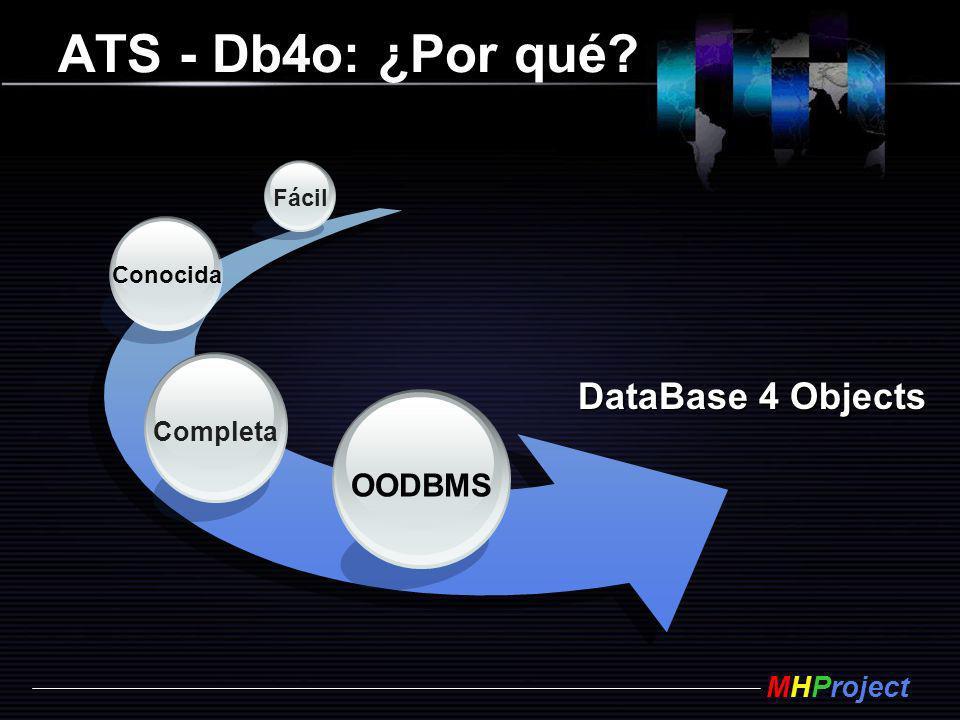 ATS - Db4o: ¿Por qué DataBase 4 Objects OODBMS Completa Fácil