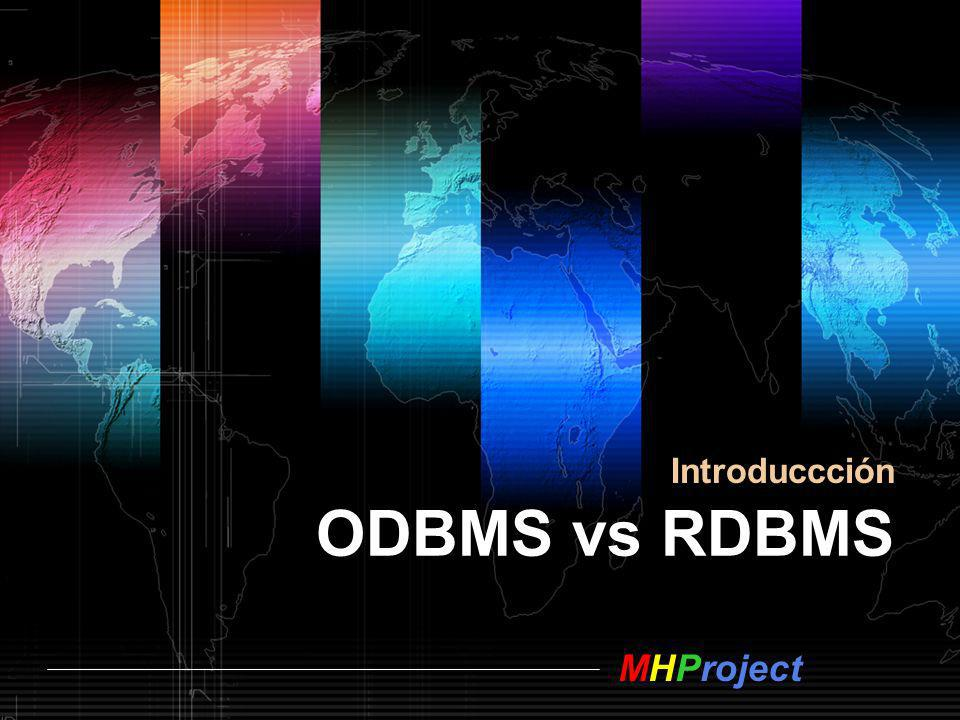 Introduccción ODBMS vs RDBMS