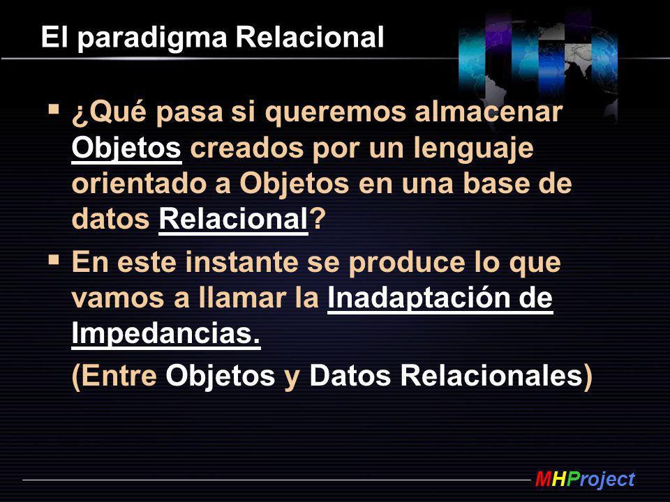 El paradigma Relacional