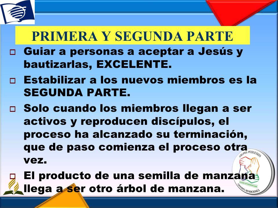 PRIMERA Y SEGUNDA PARTE