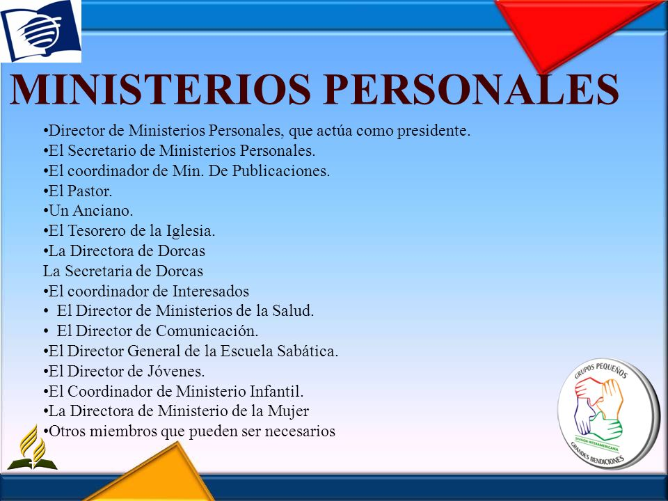 MINISTERIOS PERSONALES