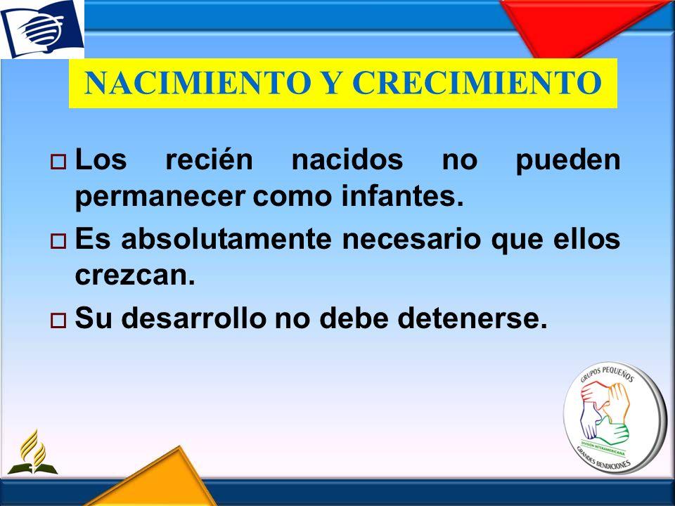 NACIMIENTO Y CRECIMIENTO