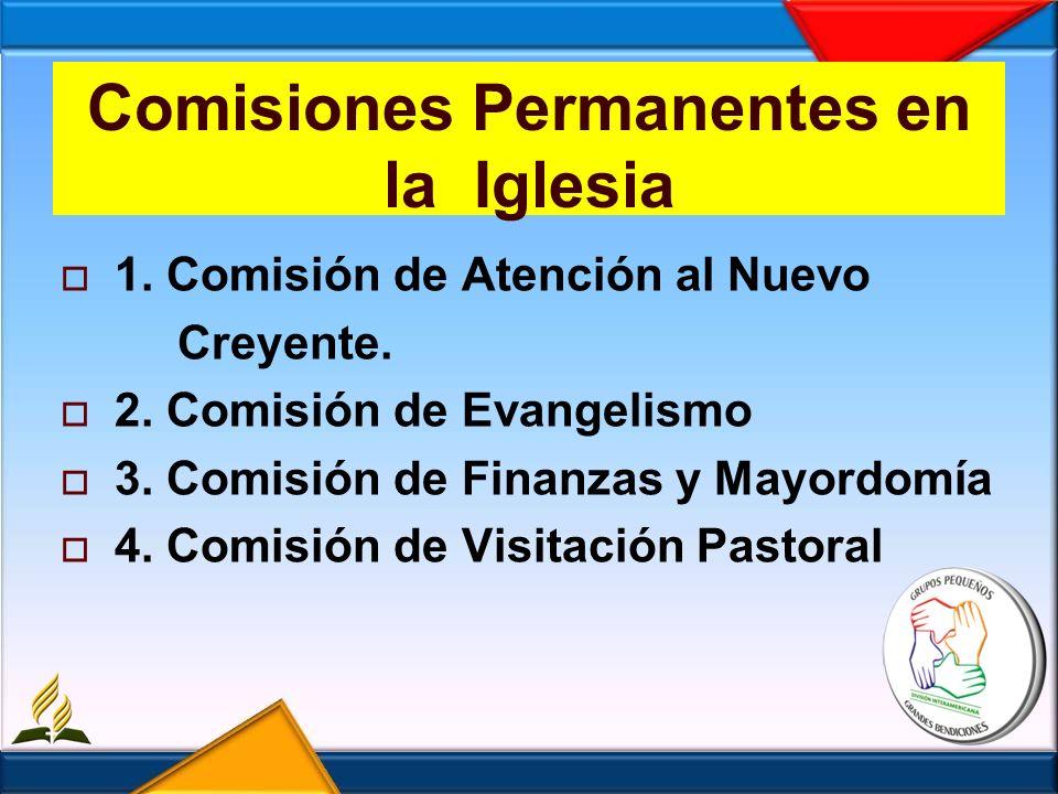 Comisiones Permanentes en la Iglesia