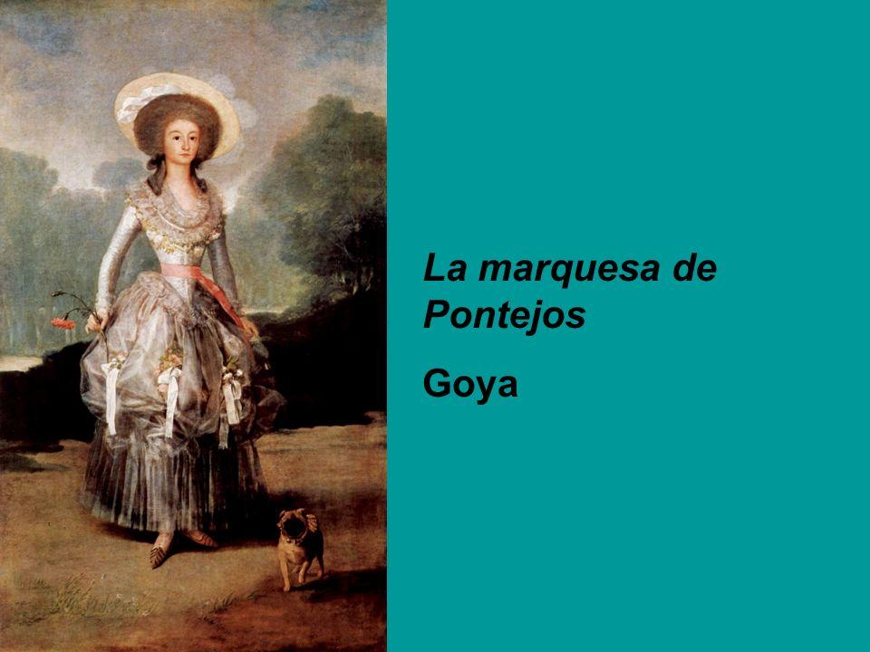 La marquesa de Pontejos