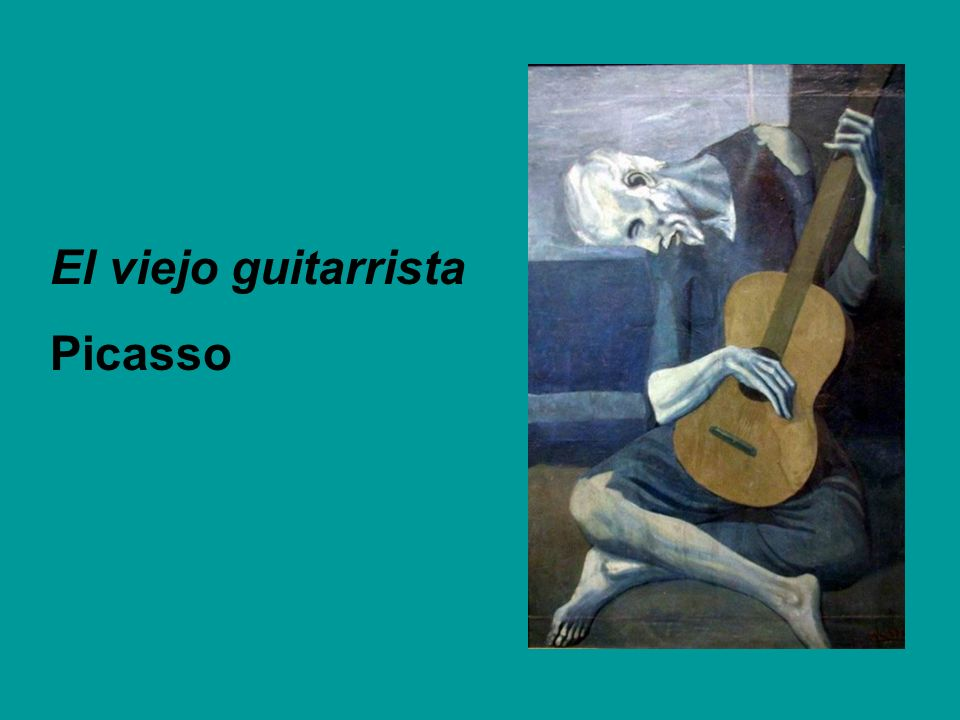 El viejo guitarrista Picasso