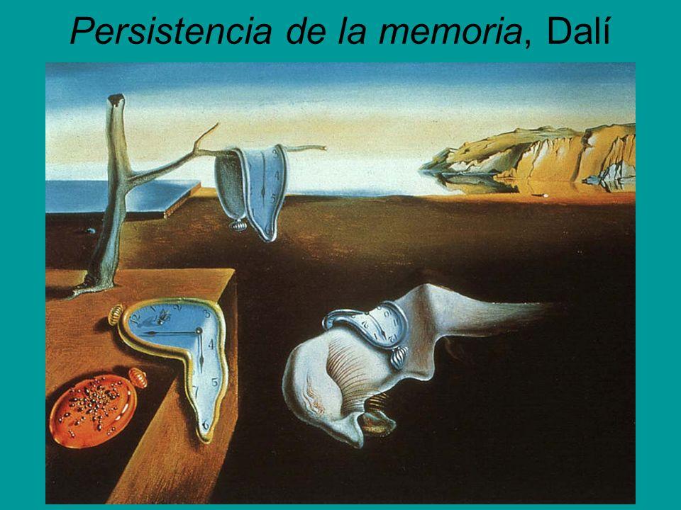 Persistencia de la memoria, Dalí