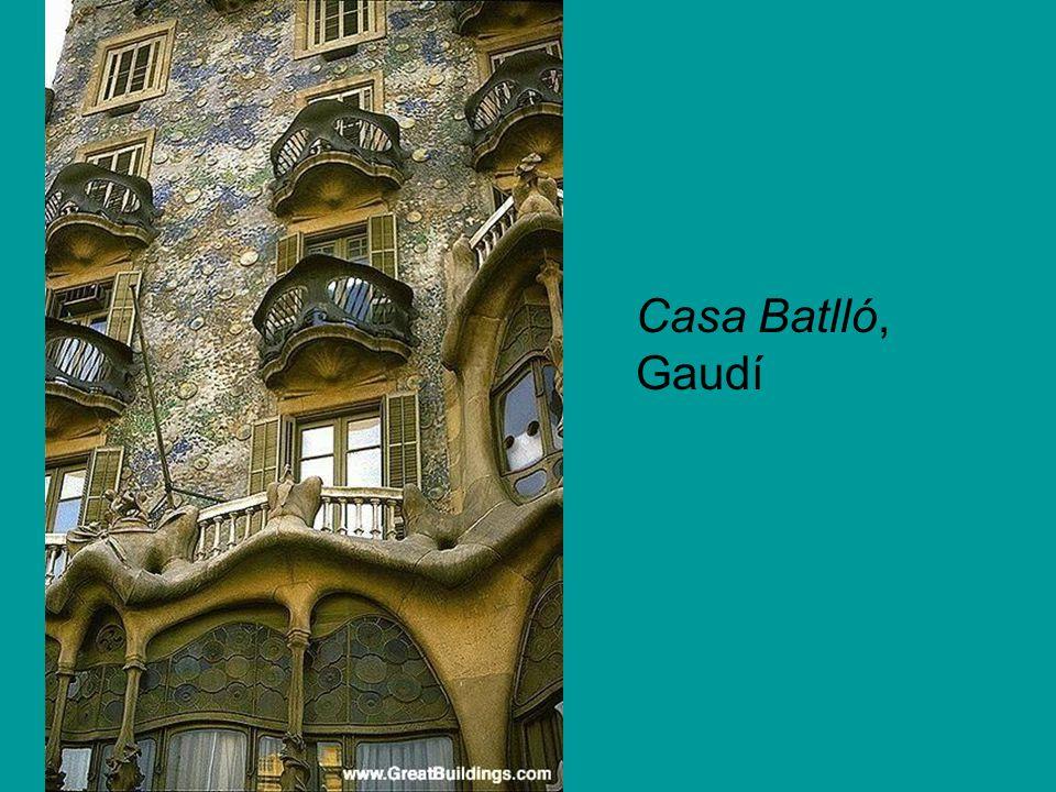 Casa Batlló, Gaudí