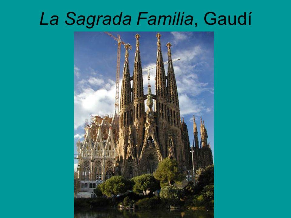 La Sagrada Familia, Gaudí