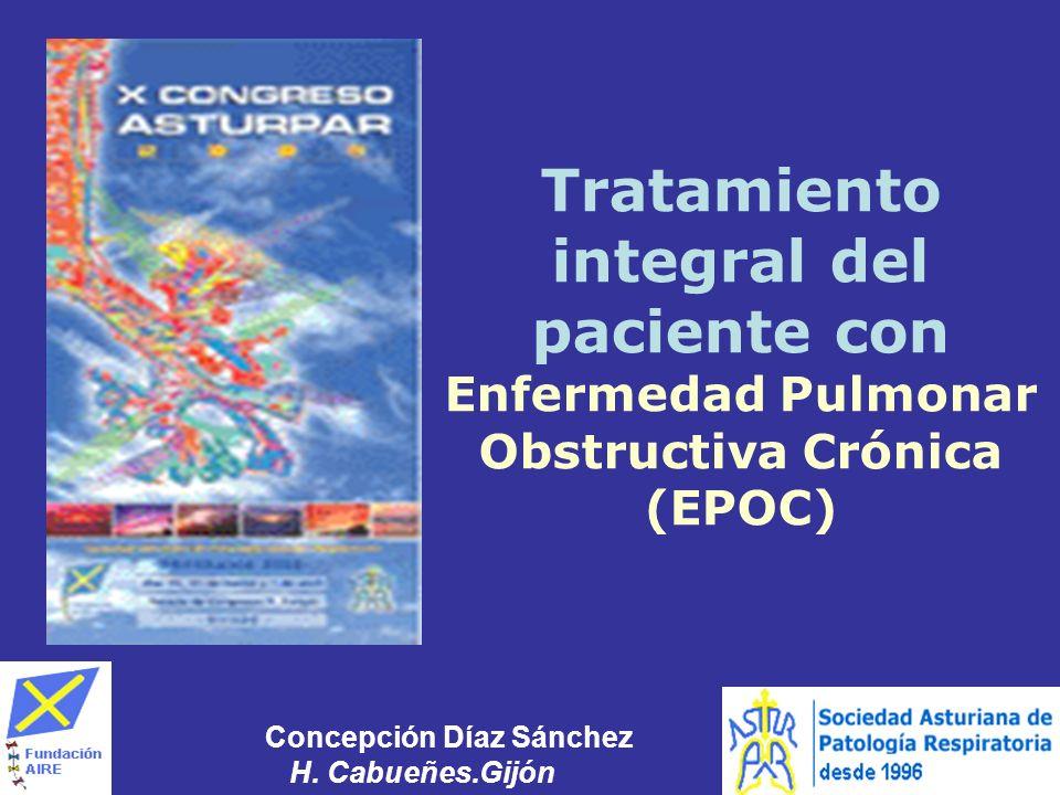 Tratamiento integral del paciente con Enfermedad Pulmonar Obstructiva Crónica (EPOC)