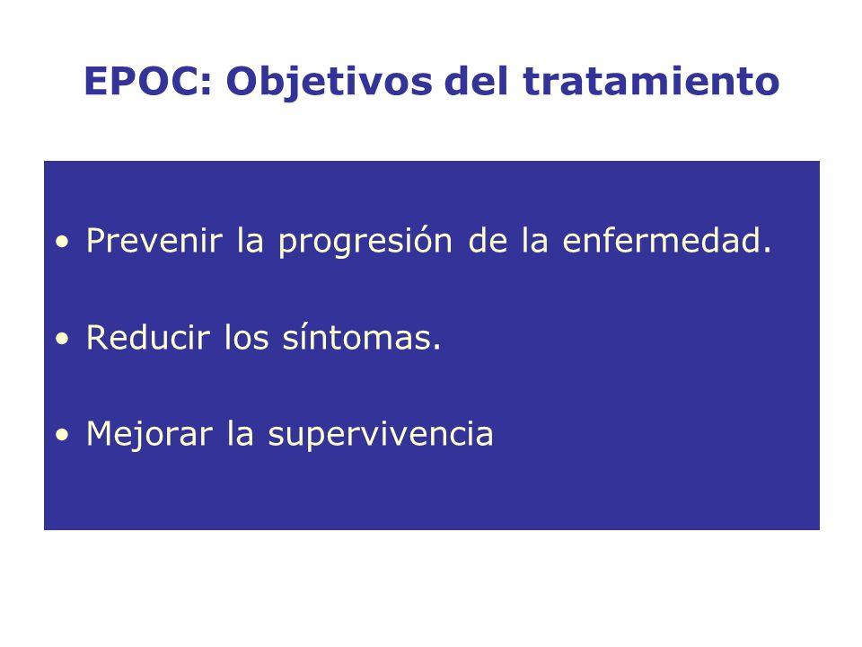 EPOC: Objetivos del tratamiento