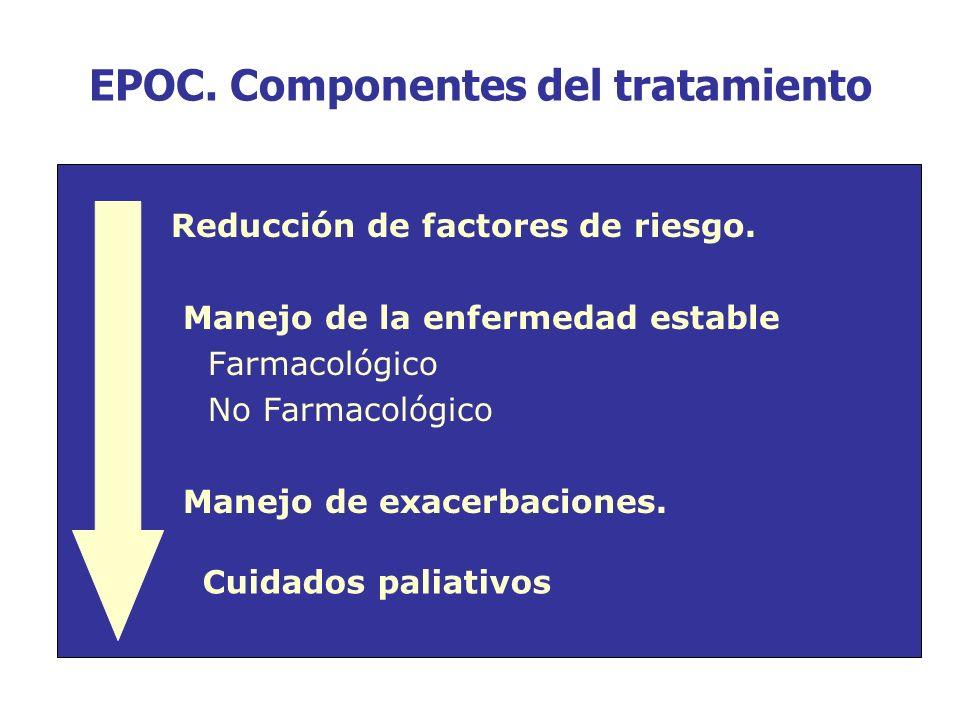 EPOC. Componentes del tratamiento