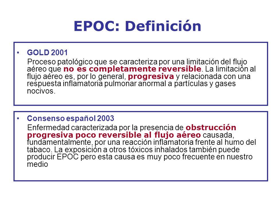 EPOC: Definición GOLD 2001.