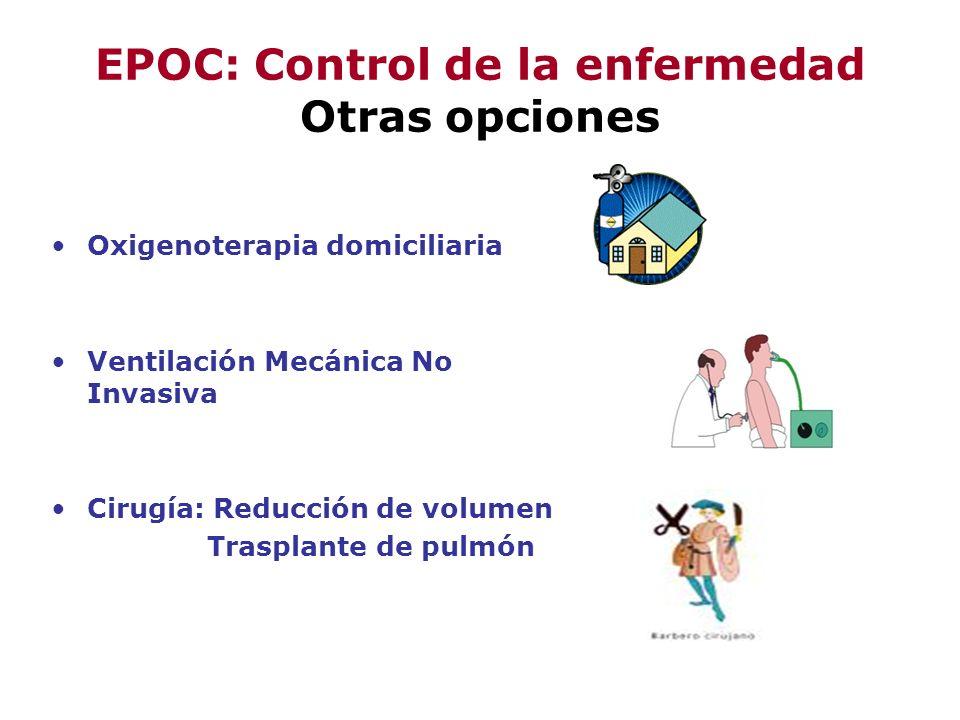 EPOC: Control de la enfermedad Otras opciones