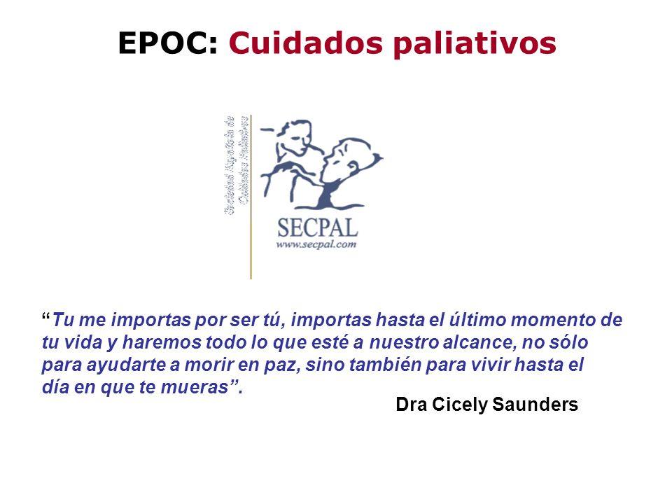EPOC: Cuidados paliativos