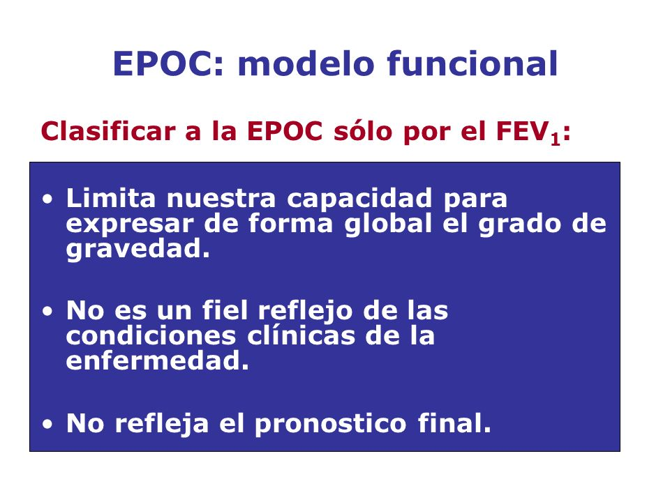 EPOC: modelo funcional