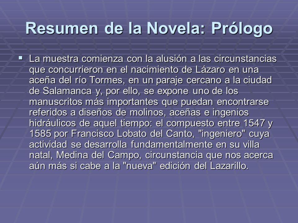 Resumen de la Novela: Prólogo