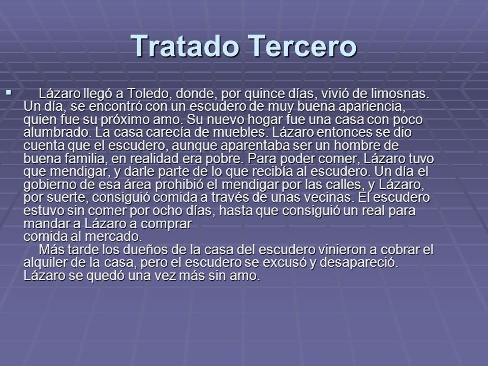 Tratado Tercero