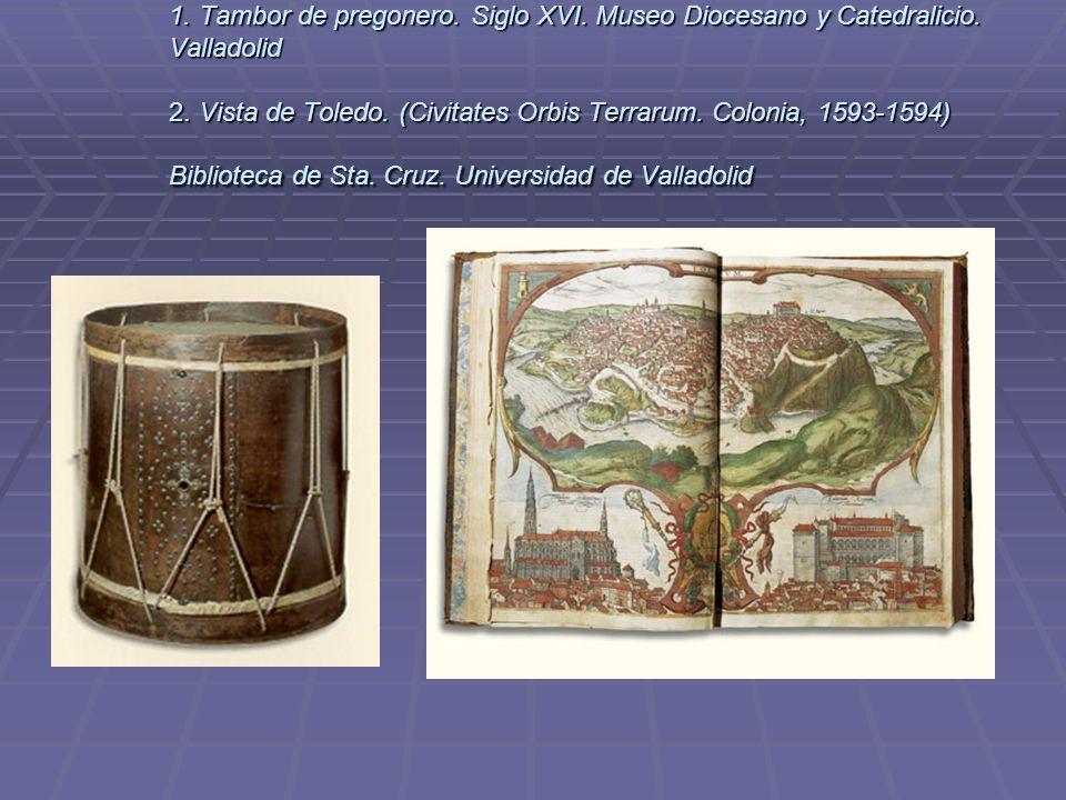 1. Tambor de pregonero. Siglo XVI. Museo Diocesano y Catedralicio
