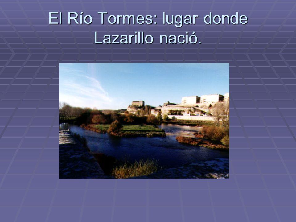 El Río Tormes: lugar donde Lazarillo nació.