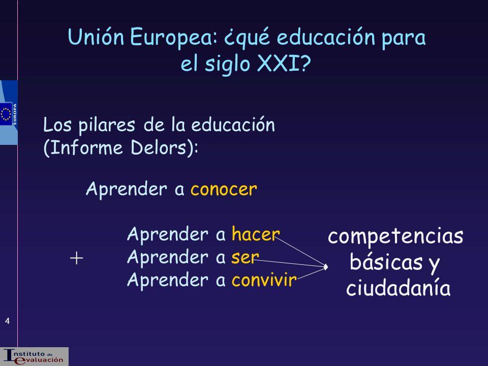 Unión Europea: ¿qué educación para el siglo XXI