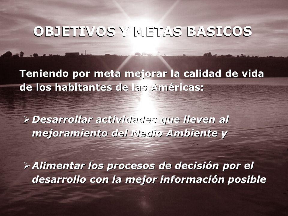 OBJETIVOS Y METAS BASICOS