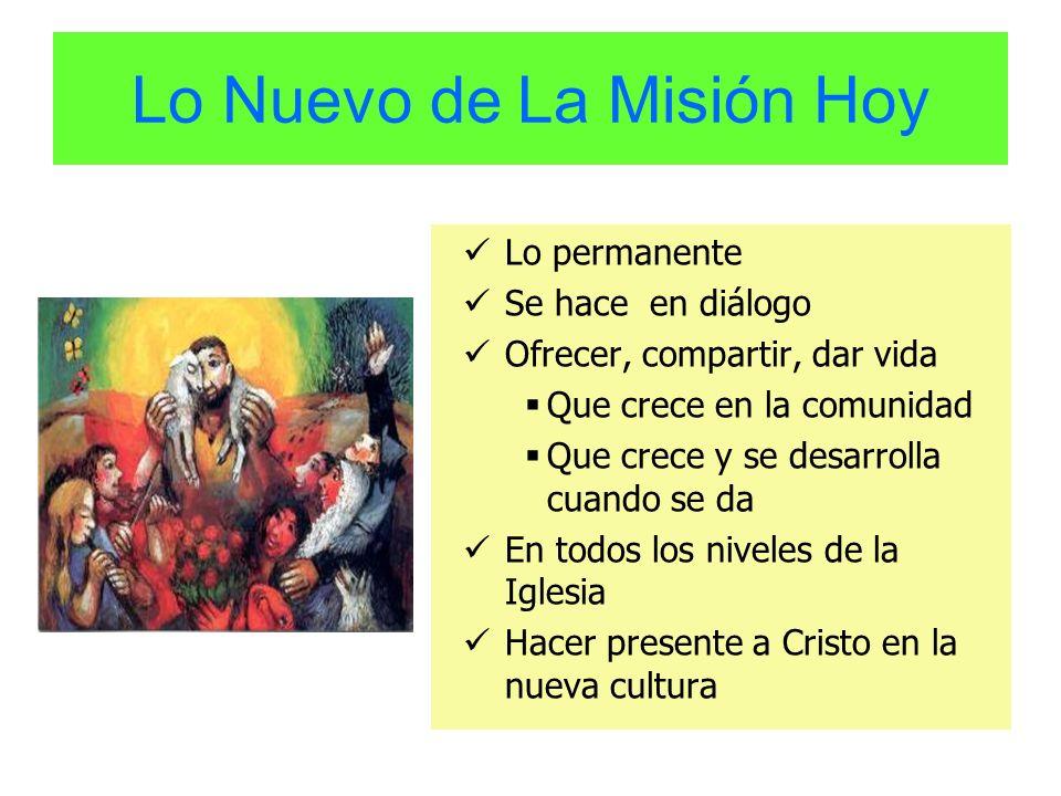 Lo Nuevo de La Misión Hoy
