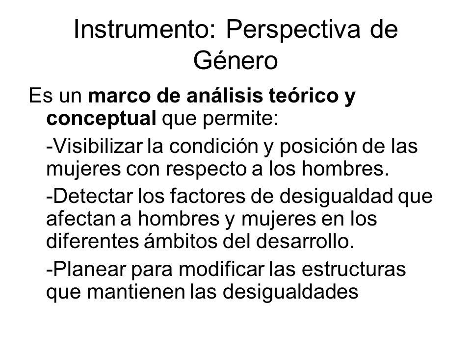 Instrumento: Perspectiva de Género