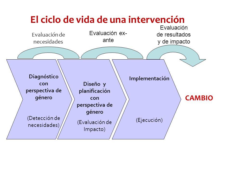 El ciclo de vida de una intervención