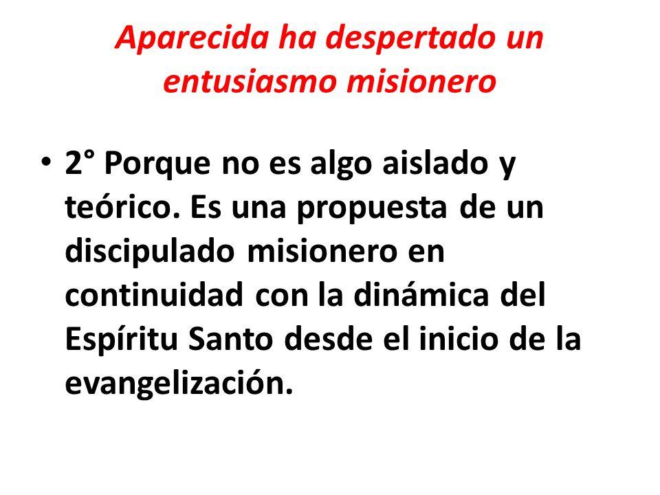 Aparecida ha despertado un entusiasmo misionero
