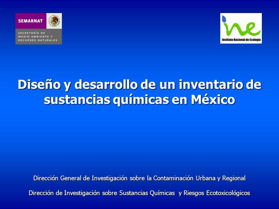 Diseño y desarrollo de un inventario de sustancias químicas en México