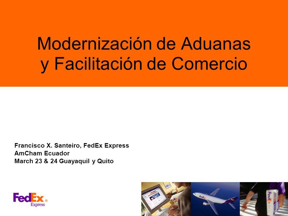 Modernización de Aduanas y Facilitación de Comercio