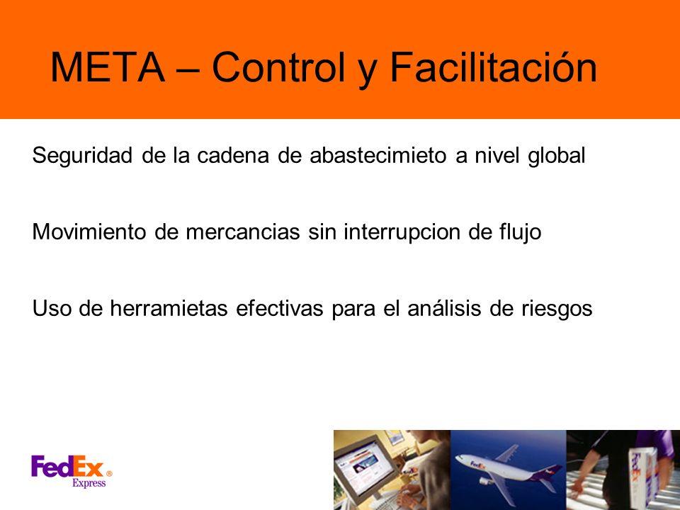 META – Control y Facilitación