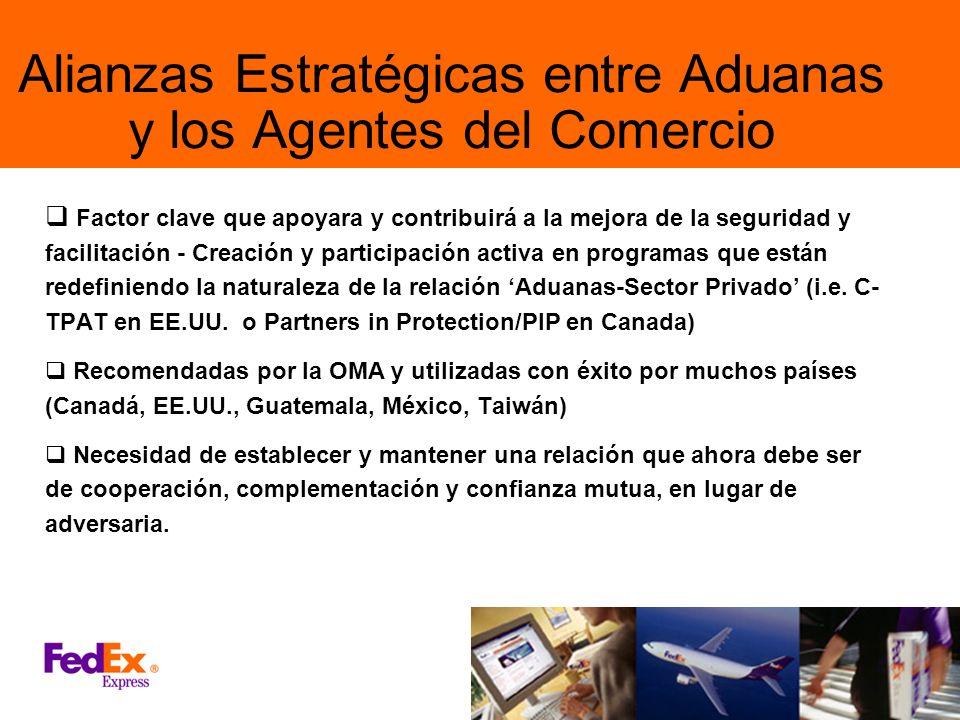 Alianzas Estratégicas entre Aduanas y los Agentes del Comercio