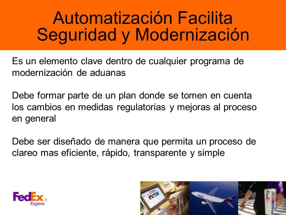 Automatización Facilita Seguridad y Modernización