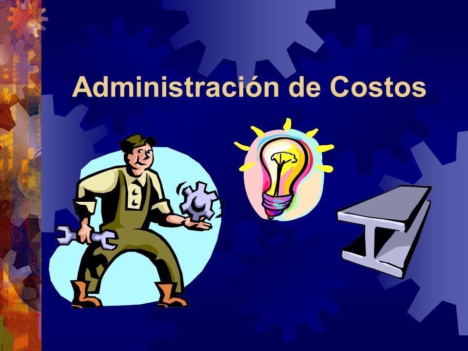 Administración de Costos