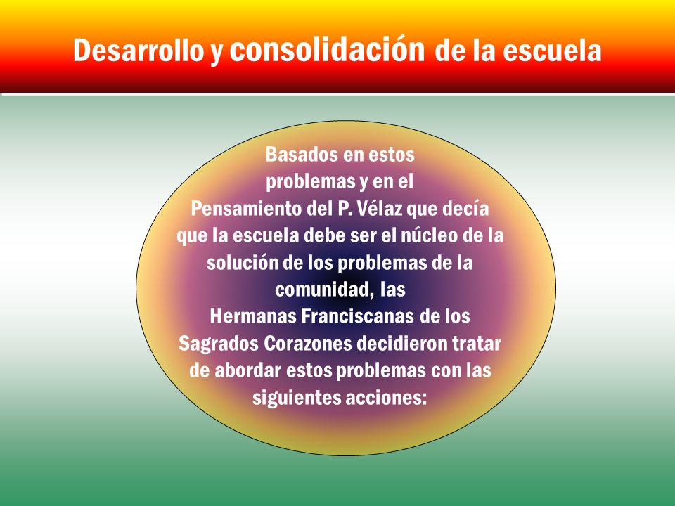 Desarrollo y consolidación de la escuela