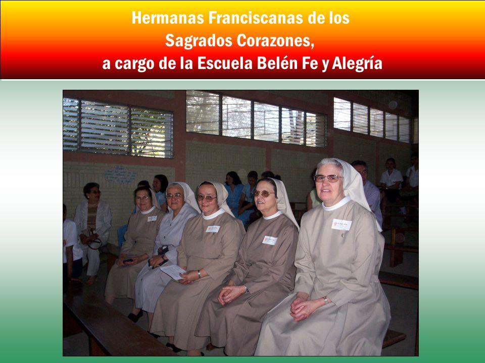 Hermanas Franciscanas de los Sagrados Corazones, a cargo de la Escuela Belén Fe y Alegría