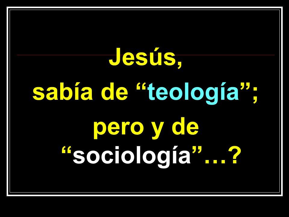 pero y de sociología …
